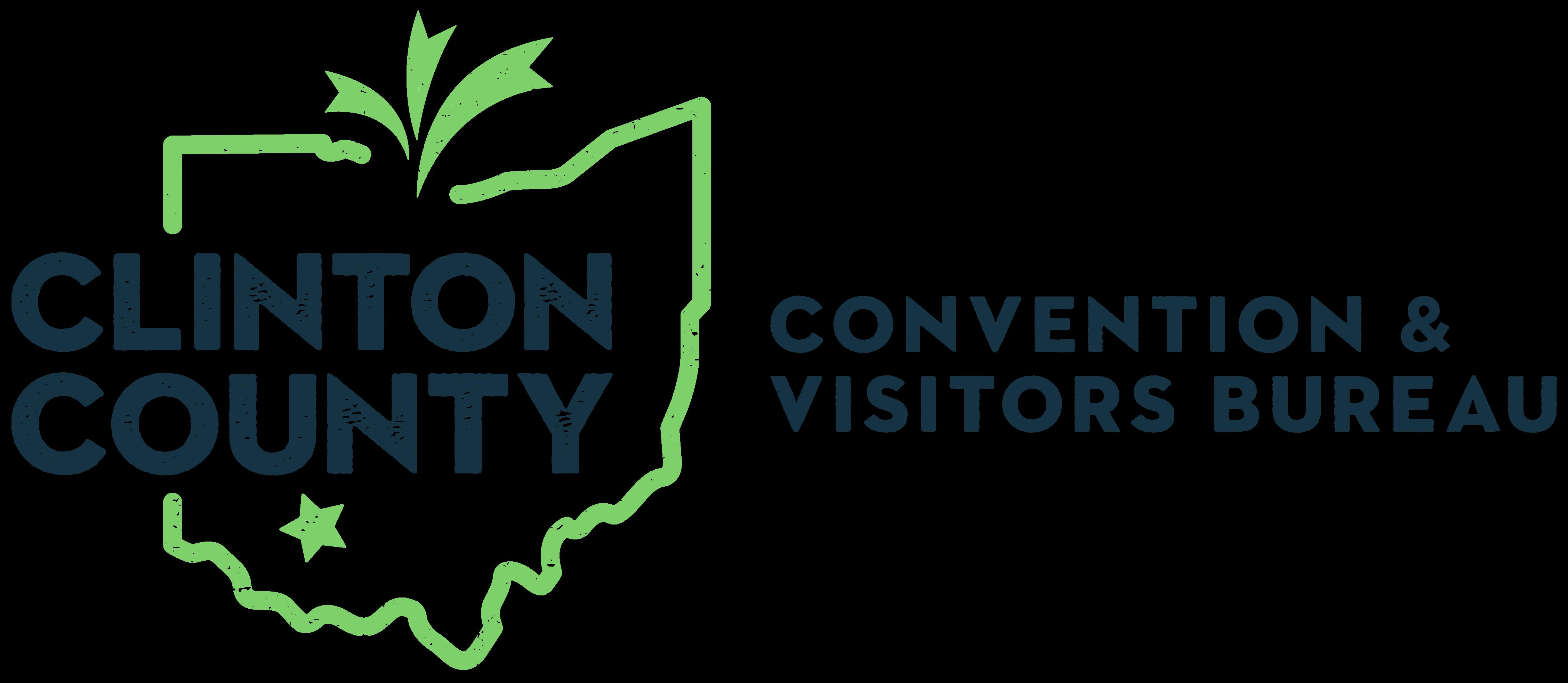 Clinton County Convention & Visitors' Bureau Logo